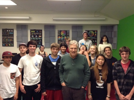 SVHS Music Production and Recording Arts Class